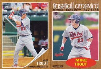 2011 Heritage Minors 2nd best card Trout