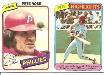 1980 Topps Rose
