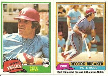 1981 Topps Rose