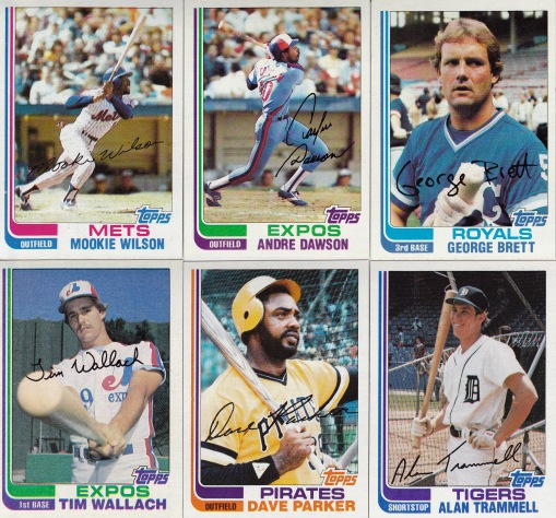 1982 Topps other cards I like