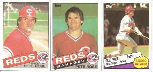 1985 Topps Rose