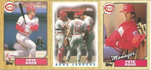 1987 Topps Rose