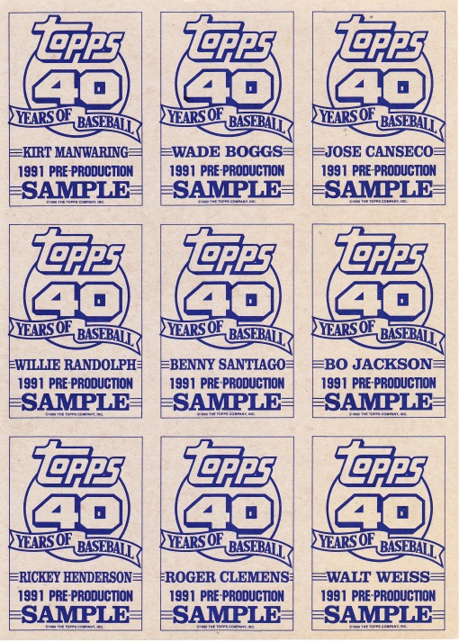 1991 Topps pre-production sheet_0001