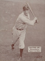 1934 Batter Up Greenberg