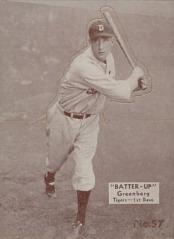 1934 Batter Up Greenberg