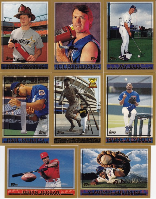 1998 Topps good pics poses