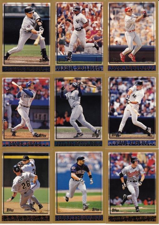 1998 Topps hitters