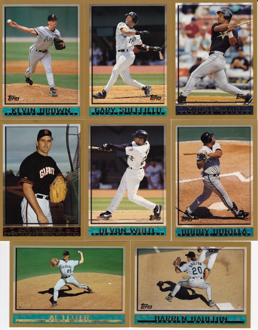 1998 Topps Marlins fire sale