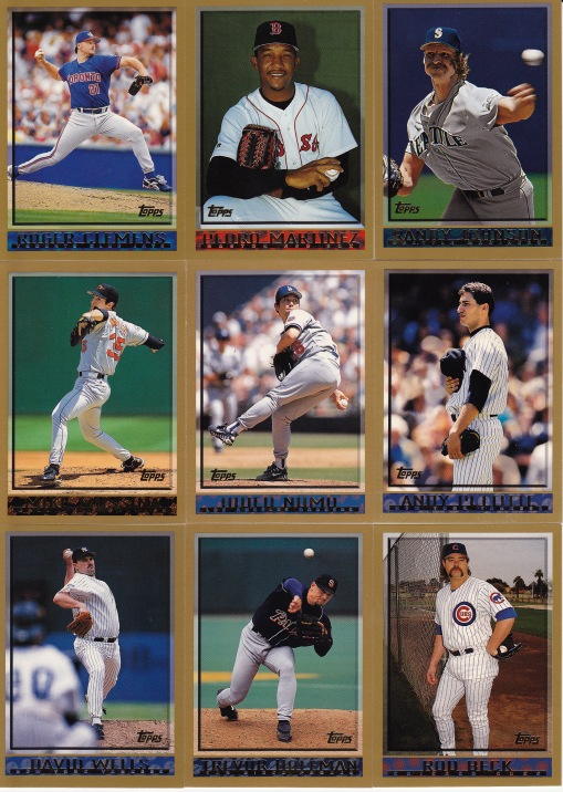 1998 Topps pitchers