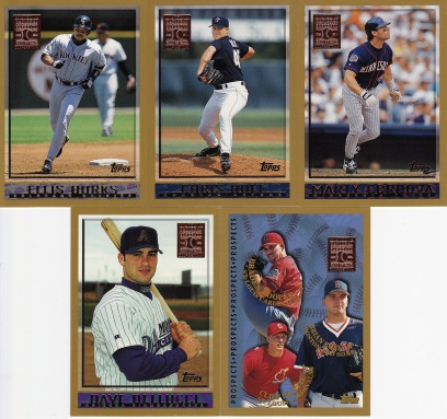 1998 Topps s2 box Minted in Cooperstown