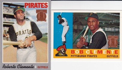 1998 Topps s2 Clemente reprints