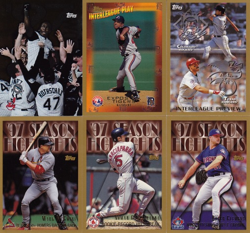 1998 Topps subsets