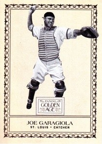 2012 Panini GA box Newark Evening Garagiola