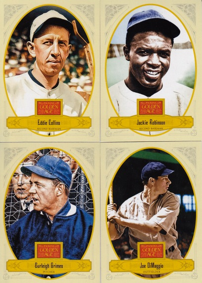 2012 Panini GA Collins and HOFers