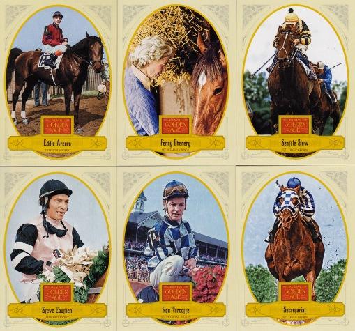2012 Panini GA horse racing