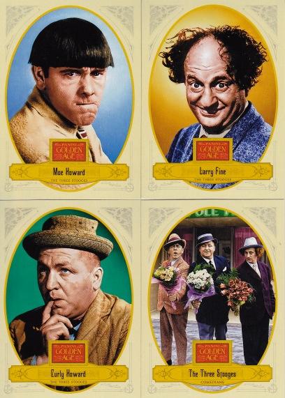 2012 Panini GA Three Stooges