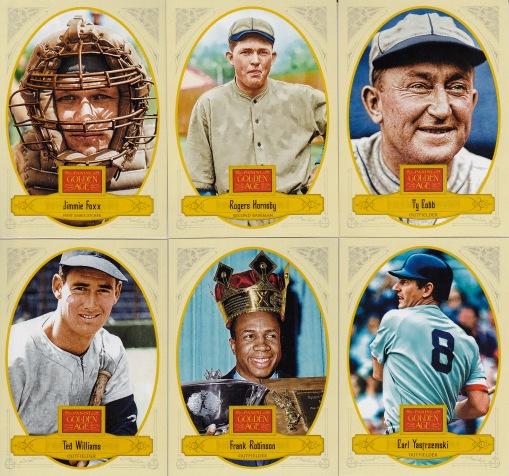 2012 Panini GA Triple Crown baseball