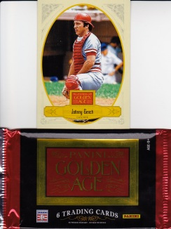2012 Panini Golden Age Bench and Pack