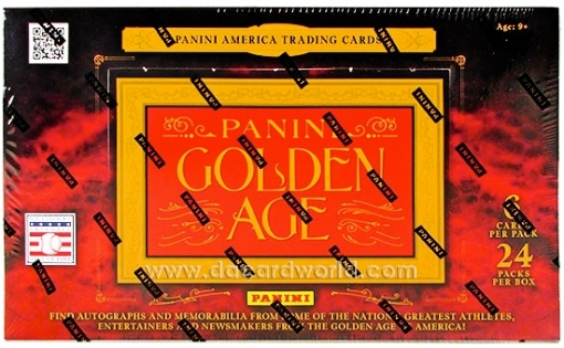 2012 Panini Golden Age box