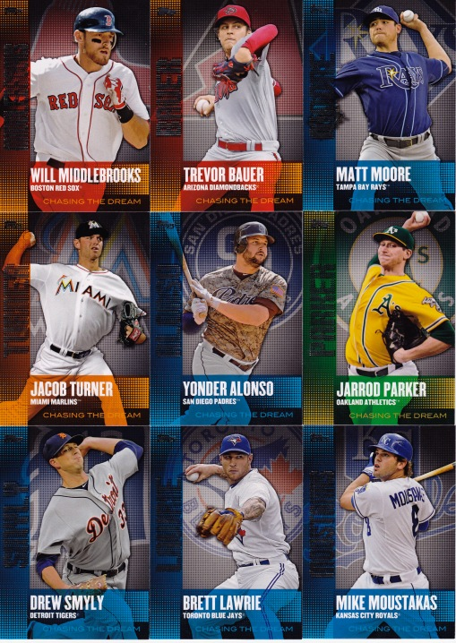 2013 Topps s1 box Chasing the Dream