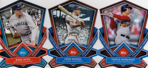 2013 Topps s1 box Cut to the Chase