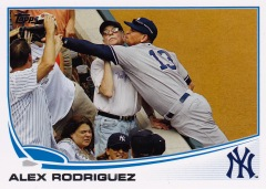 2013 Topps s1 box Out of Bounds A-Rod