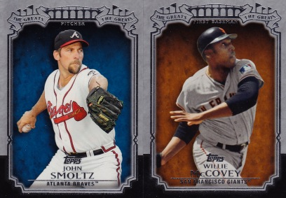 2013 Topps s1 box The Greats