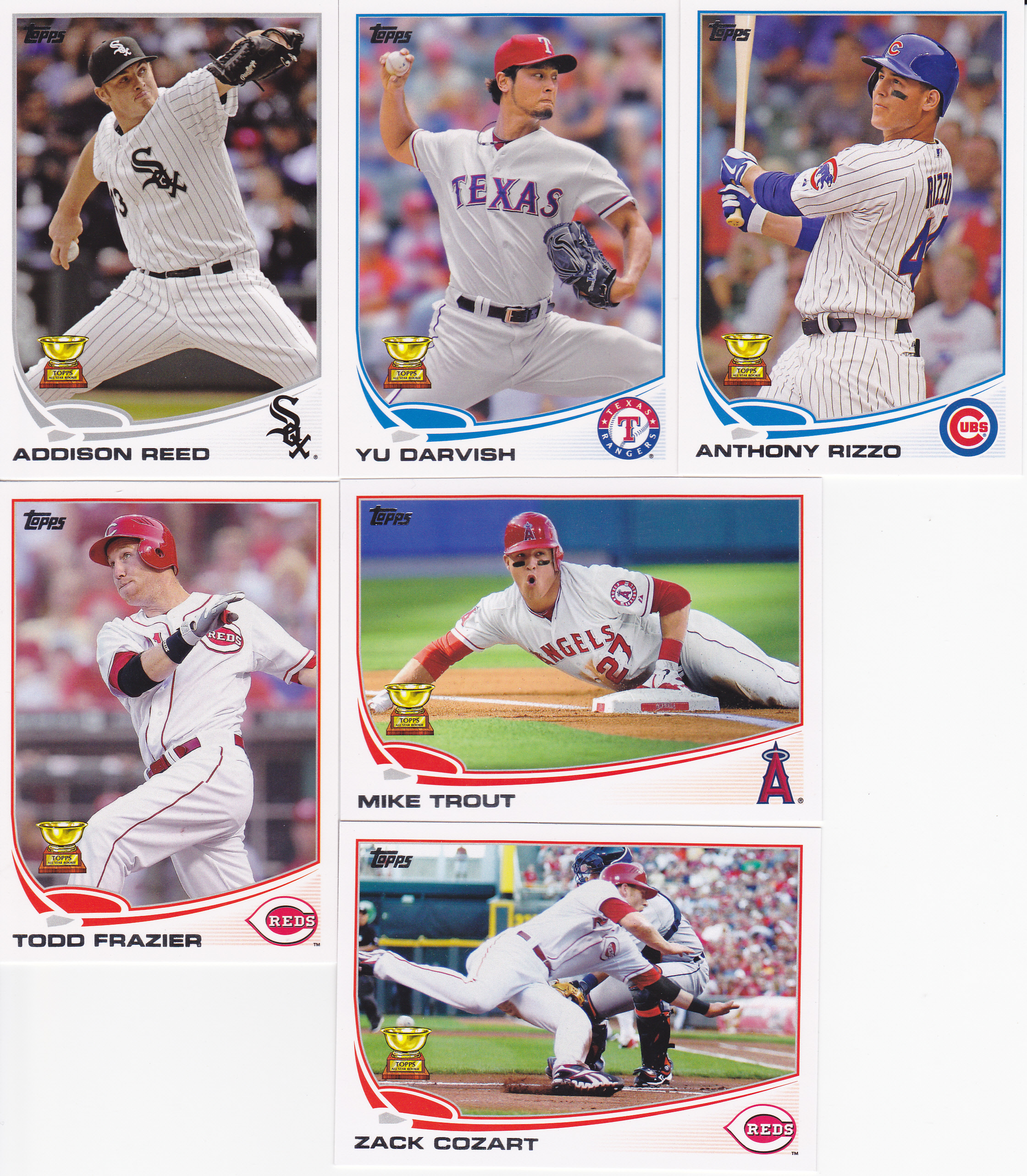 2013 Topps Series 1 Base Cards Lifetime Topps Project