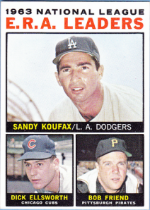 1964 Topps Alpha Leaders