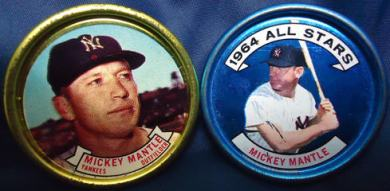 1964 Topps Coins mantle