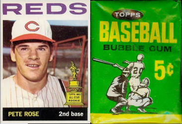 1964 Topps Rose Wrapper
