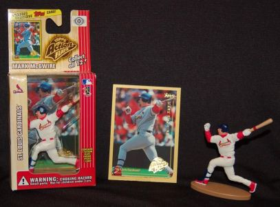 1999 Topps Action Flats McGwire