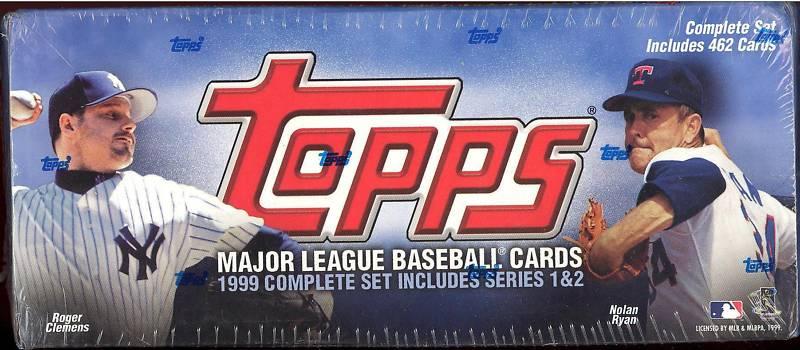462 1999 Topps Baseball Hobby Factory Set