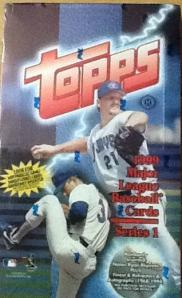 1999 Topps Series 1 box