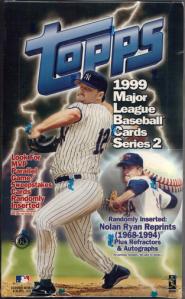1999 Topps Series 2 box