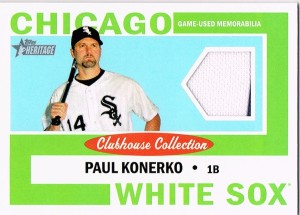 2013 Heritage box 2 Clubhouse Collection Konerko