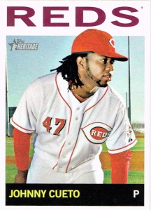 2013 Heritage Reds Cueto