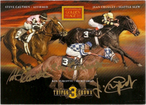 Panini GA Triple Crown Jockeys