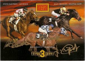 Panini GA Triple Crown Jockeys