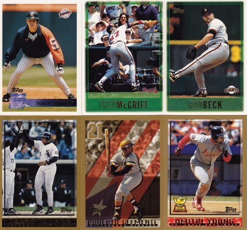 Trade with Kyle 96 97 98 Topps