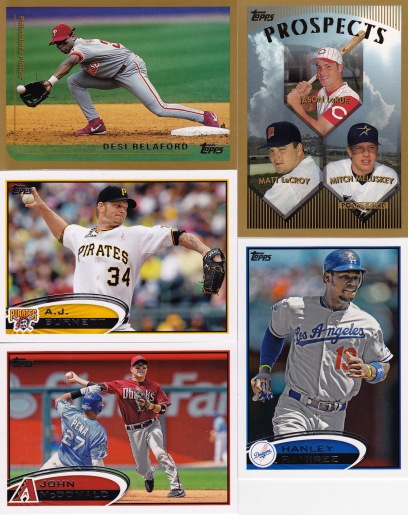 Trade with Kyle March 99 Topps 12 Update