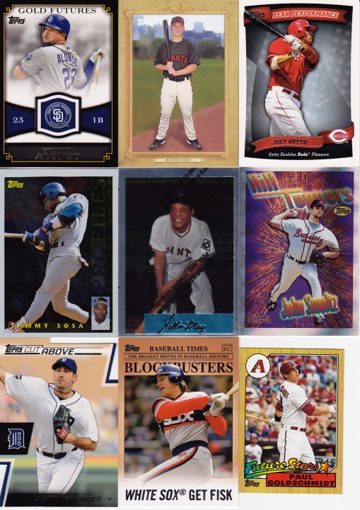 Trade with Kyle March Topps inserts