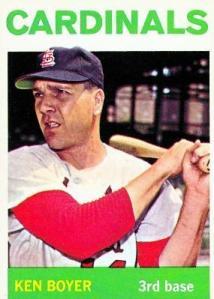 1964 Topps Ken Boyer