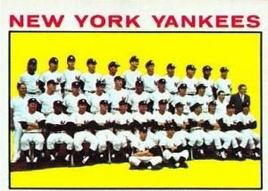 1964 Topps Yankee team 433