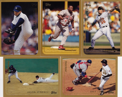 1999 Topps action shots