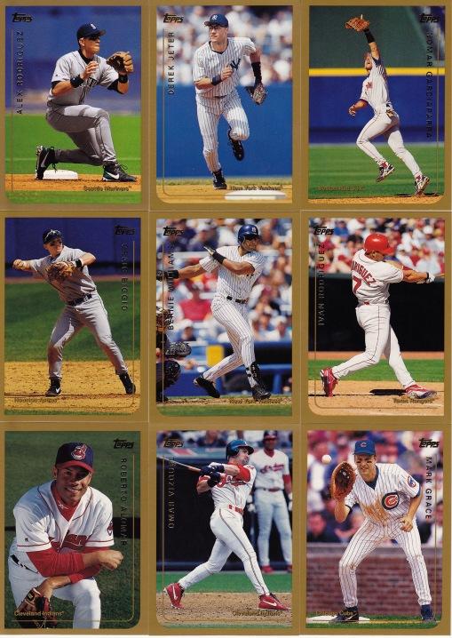 1999 Topps best hitters