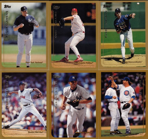 1999 Topps best pitchers