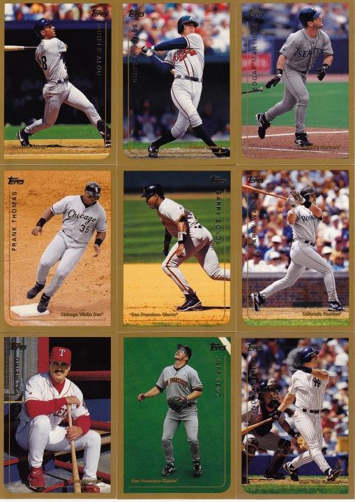 1999 Topps hitters