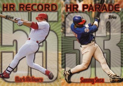 1999 Topps HR Parade