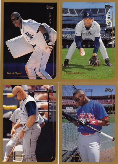 1999 Topps poses